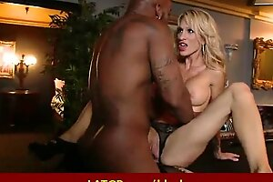 Milf succeed in drilled apart from big black monster cock - Interracial porn 26