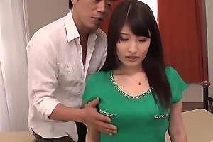 Saki Kobashi amazing POV home porn with a renowned dick