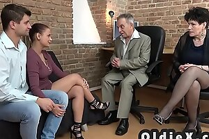 Old increased by young foursome