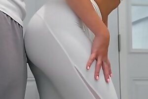 Real Tie hammer away knot Stories - His Tie hammer away knot Squats (On My Dick) scene working capital Jaclyn Taylor and Keiran Lee