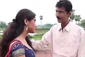 desimasala porn video - Young bengali aunty uglify her pedagogue (Smooching romance)