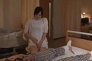 Sex-crazed Japanese nurse is toyed to multiple orgasms by a the actuality