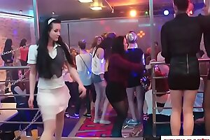 Glam euro squirted down cum elbow a crazy party