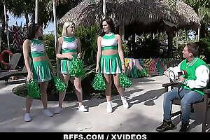 Slutty Cheerleaders Sabrina Snow, Alice Visby and Sofie Reyez Surprise Judge