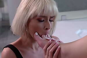 Jessie Saint and Jamie Jett here a foot fetish lesbian porn music film over
