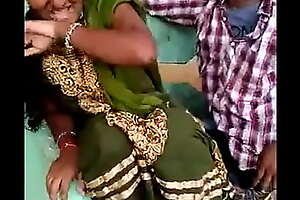 Aunty kissed by cousin and she enjoyed