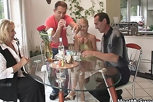 Pussy toying and cock riding helter-skelter her BF'_s parents