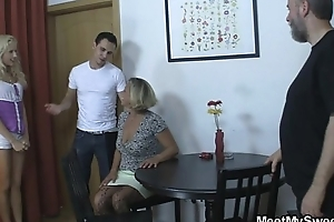 GF eats his mam cunt then gets fucked