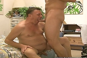 Natural personally Daddy Rich Getting His Chubby Friend Eric Off