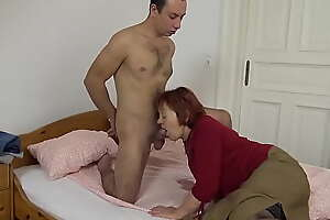 beamy 79 years old mom fucked by stepson