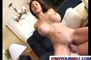 Mature housewife fucking young guy