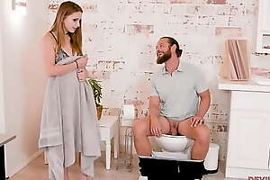 Stepbro, what the fuck are you wiping out my bathroom? - Laney Venerable