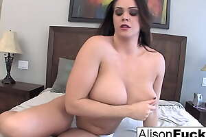 Buxom beauty Alison Tyler plays in all directions her grasping with the addition of wet pussy