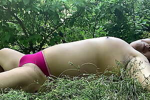 Tanning in Park 2