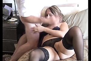 Cum on sexy mature pair