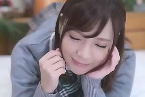 Ultra Cute Japanese Teen Close by Uniform Fucked