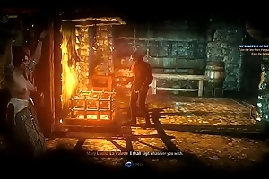 Make an issue of Witcher 2 - Dungeon leafless scene (full)