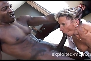 Elderly Granny keester barely just about a BBC in this Advanced Interracial Of age Video