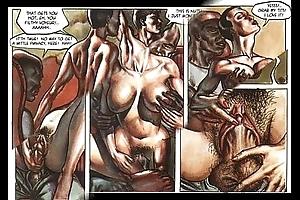 Hardcore Libidinous Orgy Comic