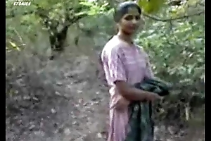 Indian girl fucking surrounding forest